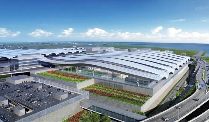 香港國際機場三跑道系統 - 擴建二號客運大樓