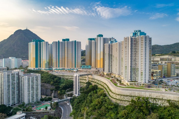 安達臣道地盤A與地盤B公共租住房屋發展計劃 (安泰邨)