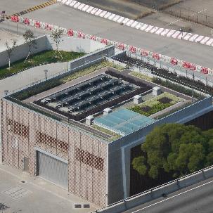 佐敦谷箱形雨水渠污水截流設施 – 泵房