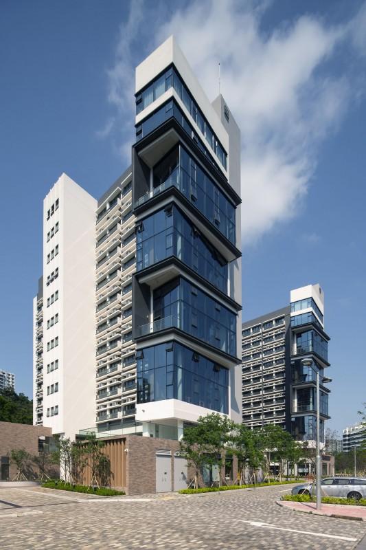 香港中文大學 賽馬會研究生宿舍 (二座及三座)